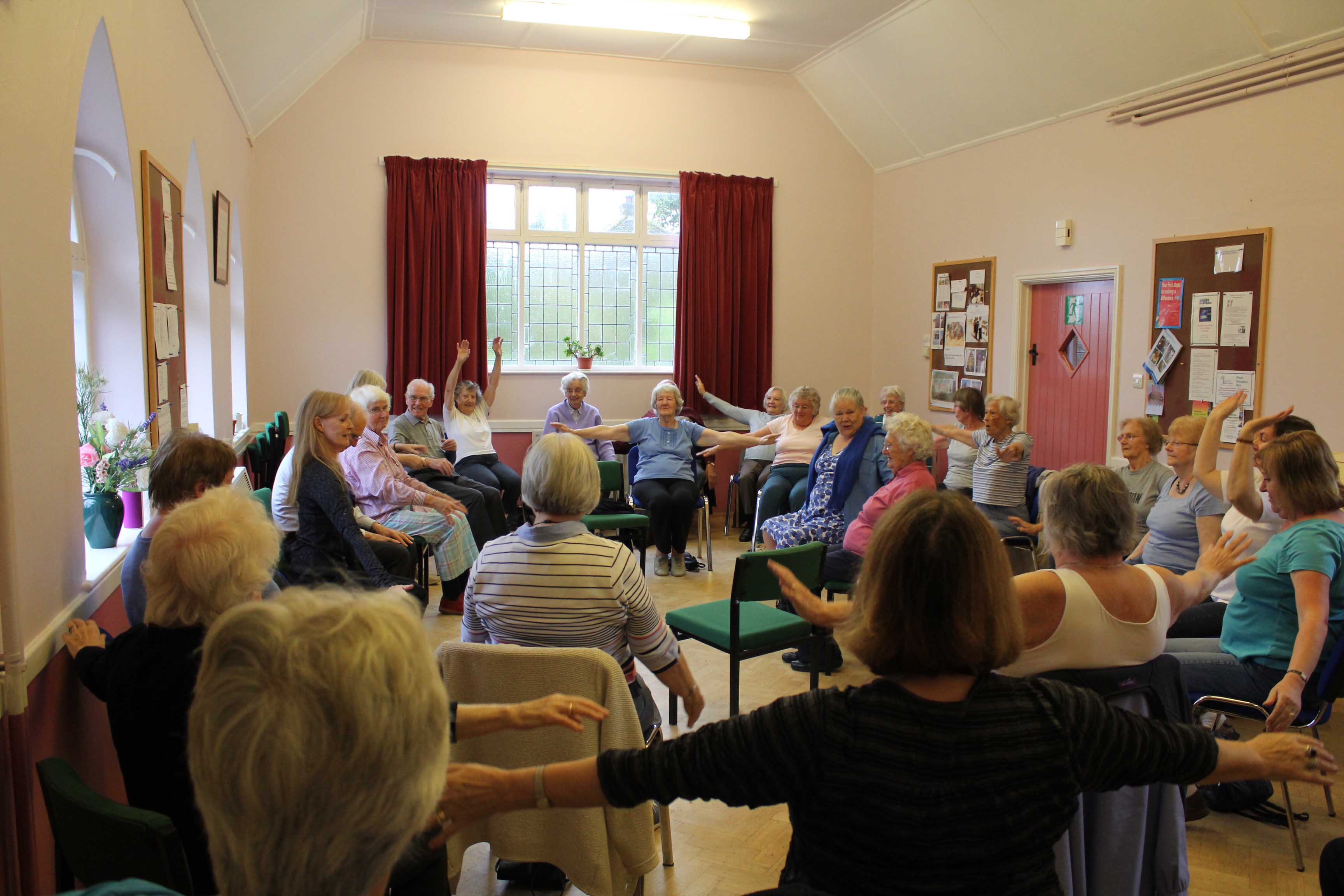 Age UK Senior's Chair Based Exercise Class